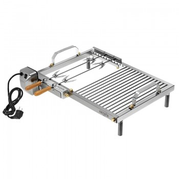 Basic Arthur grill with Inox steel spit