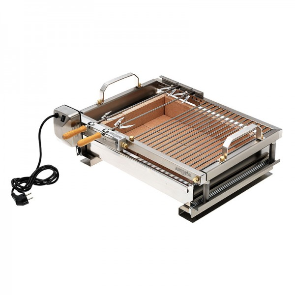 Top Arthur grill with Inox steel spit